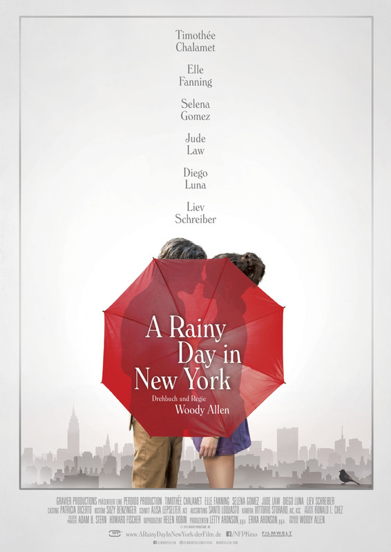 A RAINY DAY IN NEW YORK  - Kino Ebensee